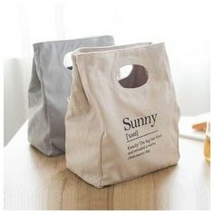 Sac Lunch, Lunch Tote Bag, Lunchbox Bag, Cotton Bag, Cotton Canvas, Sacs Design, Bag Display, Bag Packaging, Organic Packaging