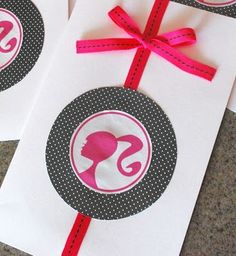 barbie party invitations