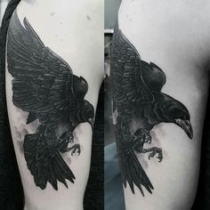 My raven tattoo