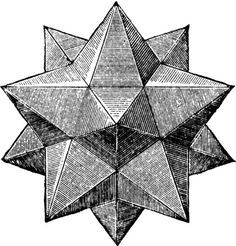 pentagonal pyramid polyhedron line drawing Geometry Art, Sacred Geometry, Op Art, Geometric Designs, Geometric Shapes, Geometric Star, Platonic Solid, Art Ancien, Grafik Design