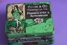 Contained Ring Travellers Early by AtticBazaar on Etsy Altrincham, Textile Industry, Manchester, Art Nouveau, Tin, History, Luxury, Antiques, Cotton