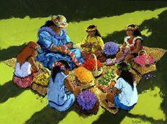 Tutu's Lei Class by Al Furtado at Maui Hands