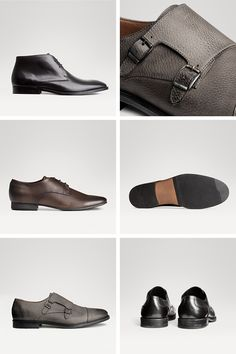 Men's monk strap and oxford premium quality dress shoes.