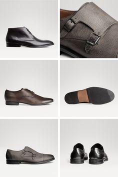 Men's monk strap and oxford premium quality dress shoes.