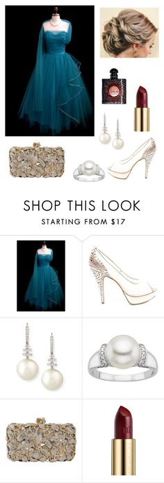 """""""Untitled #910"""" by floridaflower11 ❤ liked on Polyvore featuring Rodo, Belpearl, Urban Decay and Yves Saint Laurent"""