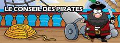 Le Conseil des Pirates, une chasse au trésor sur le thème des Pirates et de Barbenoire... chasse-tresor.net