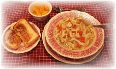 MY COLONIAL HOME: Favorite Recipes- homemade chicken noodle soup.