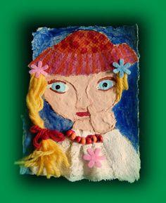"""Collage""""Mary popelt"""" oder """"Funkelperlenaugen"""" von paperwithlove auf DaWanda.com"""