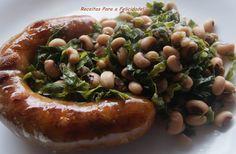Portuguese food Alheira de Mirandela