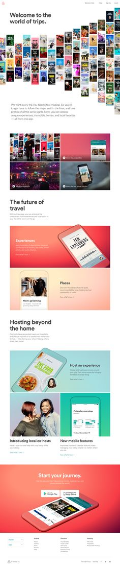 Airbnb - Welcome to the world of trips.
