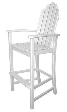 The classic Adirondack design moves to new heights with this comfortable bar…