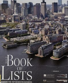 The Boston Business Journal Book of Lists is a treasure trove of hard-to-find local business information.  This is a carefully researched, annual publication of the top ranked companies located throughout the Greater Boston area.  The lists are organized by industry – professional services, hospitality, design and construction – to name a few. Favorite of Liz & Hope. http://libcat.bentley.edu/record=b1013802~S0