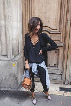 MARY-KATE – For other models, you can visit the category. For more ideas, … Mode Outfits, Casual Outfits, Fashion Outfits, Medium Hair Styles, Short Hair Styles, Style Casual, My Style, Fashion Mode, Womens Fashion