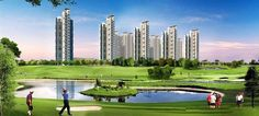 Mahagun Manorial offers 3/4/5 BHK Ultra Luxury Golf facing Apartmentsin Sector - 128, JP Wishtown Golf Course, Noida Expressway starting at 1.78 cr* Only. Call 9999422881