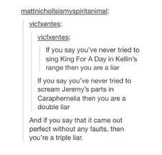 You're a triple liar!