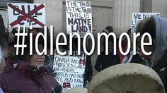 APTN best source for news on the Canadian #idlenomore movement