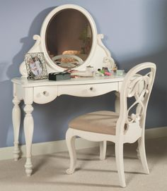 Perfect vanity for a bedroom