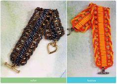 Armband met bugles