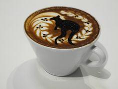 latte art bar