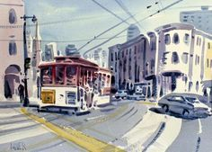"""""""Downtown San Francisco"""" by Donald Maier on Fine Art America"""