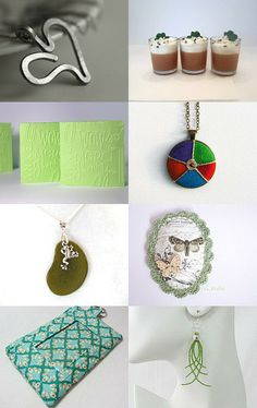 Love a wee touch of Green by Brent on Etsy--Pinned with TreasuryPin.com