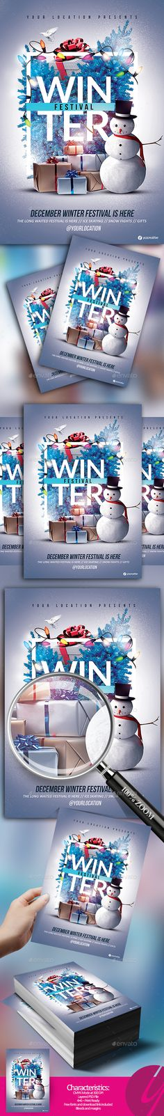 Winter is Here Festival by YczCreative Winter is Here Festival 鈥?20Flyer The best party in town is at your location ! Special designed flyer for your ocasion and holiday