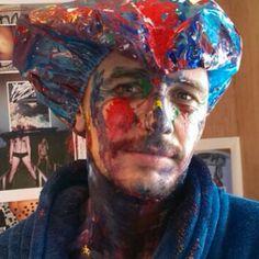 "James Franco: ""Paint - dodgeball"""