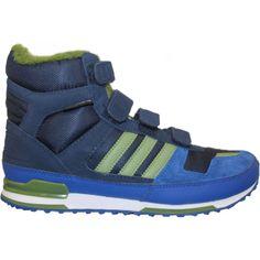 premium selection 904e5 0981b Adidas Zx Winter Cfk Référence   M17948 Couleur Bleu Royal Genre Garçon  Matière Nubuck  Adidas