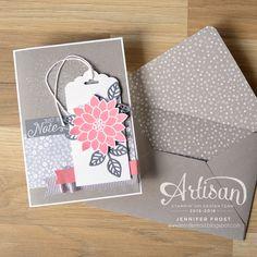 Papercraft by Jennifer Frost: Flourishing Phrases, Stampin' Up! Artisan Design Team Blog Hop