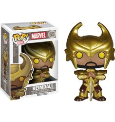 Thor - Heimdall with Helmet Pop! Vinyl Bobble Head Figure