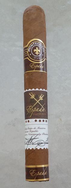 Montecristo Espada also new from Montecristo will be trying them soon