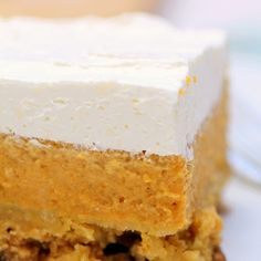 Pecan Pumpkin Dessert- ill make this but only with real whipped cream.