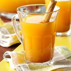 """Citrus Wassail Recipe -""""I found this healthy wassail recipe in a cookbook,"""" writes Julie Williquette of Hartselle, Alabama. """"My daughter first prepared it to go with our day-after-Thanksgiving leftovers meal, and everyone loved it!"""""""