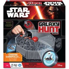 Star Wars The Force Awakens Galaxy Hunt Game, Multicolor