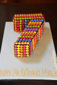 How to Make a Number 7 Birthday Cake Cakes and Cupcakes