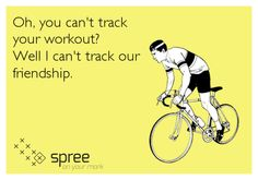 You don't need to track your workout