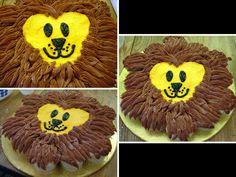 Lion Cupcakes Cake