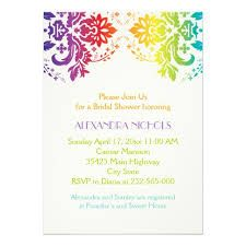 rainbow wedding invitation - Google Search