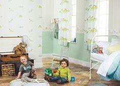 Happy world bus Casadeco   http://www.decorteamus.com/#kids#bedroom#playroom#fabrics#wallpaper