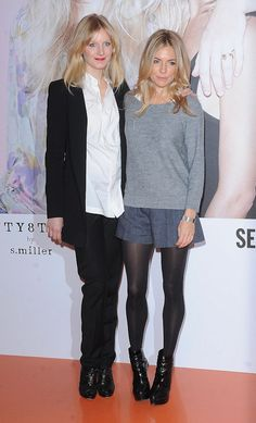 I heart Sienna Miller's style - she has the best fashion sense!