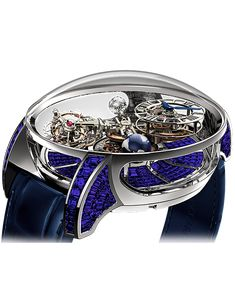 ASTRONOMIA TOURBILLON BAGUETTE | Jacob & Co. | Timepieces | Fine Jewelry | Engagement Rings