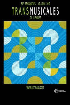 Affiche transmusicales 2012