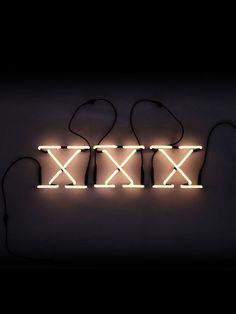 Neon Art Xxx Wall Lamp