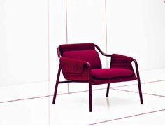 fauteuil contemporain JACKET by Patrick Norguet Tacchini
