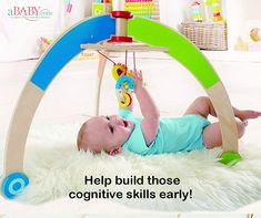 My First Gym An interactive and is always a great idea for your in his early days! Our ba Our Baby, Baby Love, Baby Gym, Toy Collector, Toddler Toys, Educational Toys, Baby Gifts, Infant, Nursery