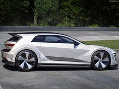 The VW Golf is one of the most common vehicles anywhere in the world. The Golf GTE Sport is a concept that Volkswagen brought out to this year's. Volkswagen Golf, Volkswagen Phaeton, Ducati, Supercars, Lamborghini, Vw Performance, Porsche, Automobile, Best Classic Cars