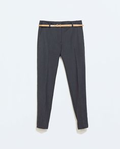 Zara blue small polka dot pants
