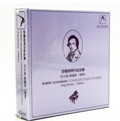 74.00$  Buy here - http://aligj5.worldwells.pw/go.php?t=32754046417 - Free shipping: about erg demuth schumann piano works collected 13 music album CD sealed