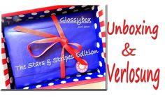 Glossybox Stars & Stripes PLUS Verlosung ♥