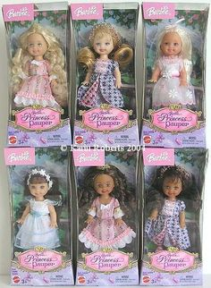 Princess and the Pauper - kelly dolls